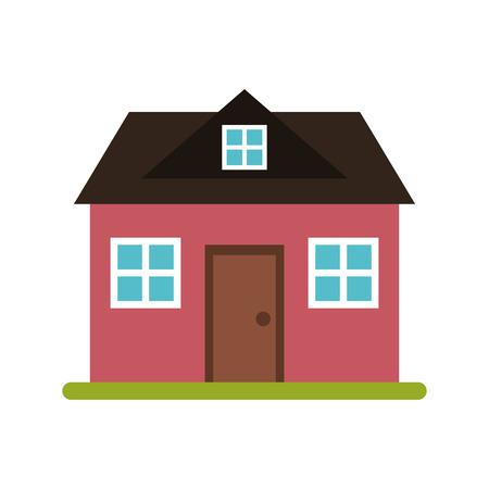 loft: home classic style loft vector illustration eps 10
