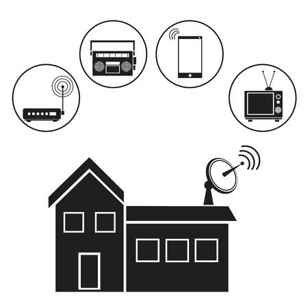telecommunications: building broadcaste tower antennas