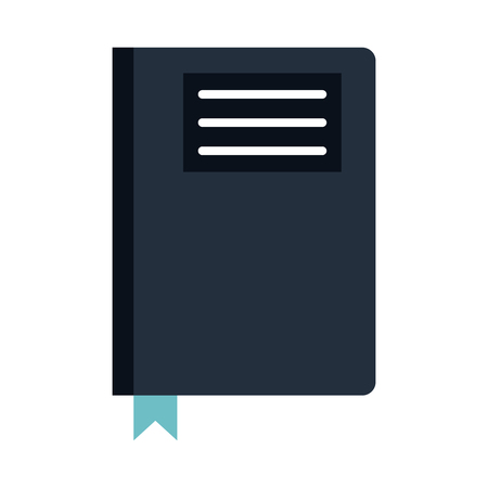 directory: book diary directory office vector illustration