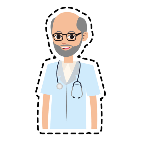 medical doctor icon image vector illustration design Illustration