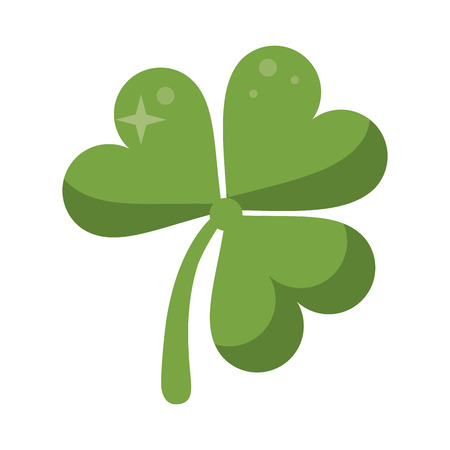 st patricks day clover lucky icon vector illustration eps 10 Illustration