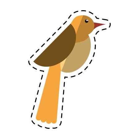 cartoon bird dove fauna fly icon