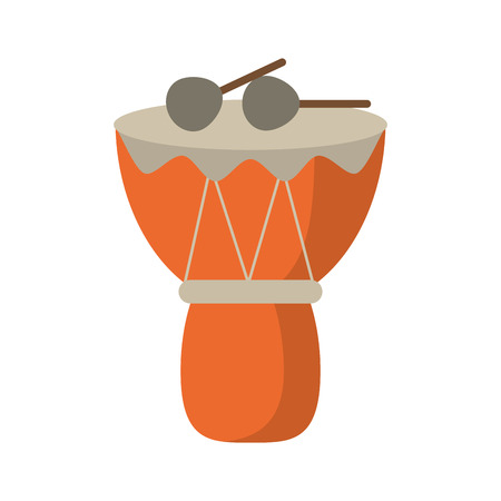djembe drum: drum djembe percussion african Illustration