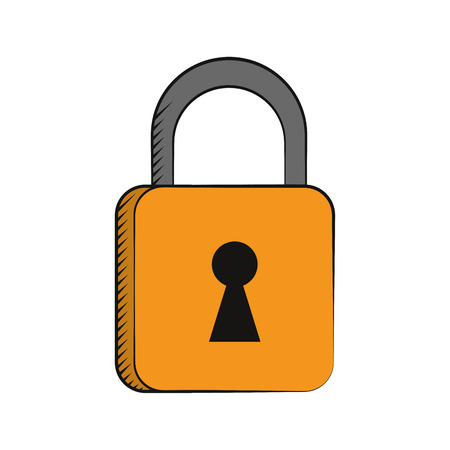security technology: padlock security system technology