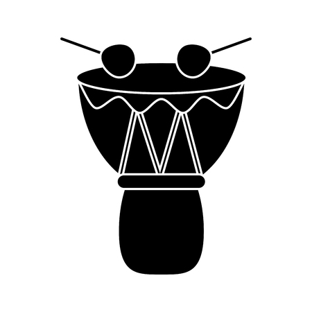 djembe: drum djembe percussion african pictogram