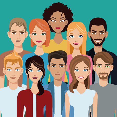 people group team community