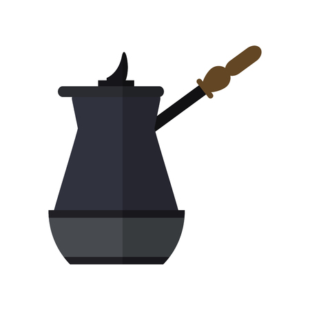 coffee jar icon over white background. vector illustration