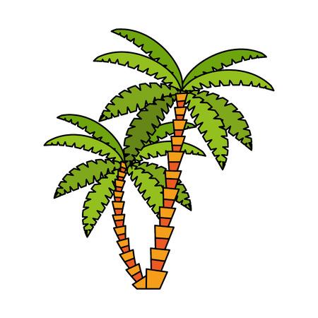 palm tree icon image vector illustration design Illustration