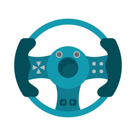 steering wheel video game
