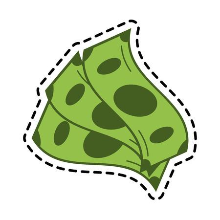 bills money icon image vector illustration design Illustration