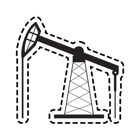 pump oil industry related icons image vector illustration design