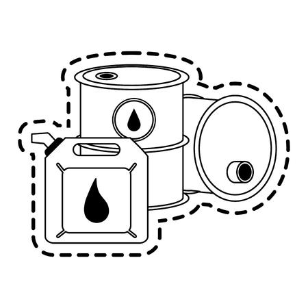 barrel oil industry icon image vector illustration design Illustration