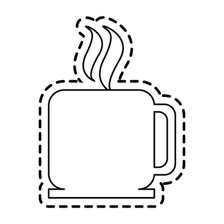 coffee mug  icon image vector illustration design