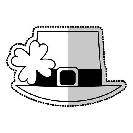 hat st patricks day icon image vector illustration design Illustration