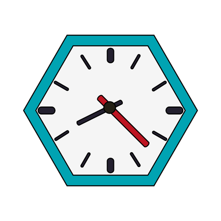 wall clock icon image vector illustration design Illustration