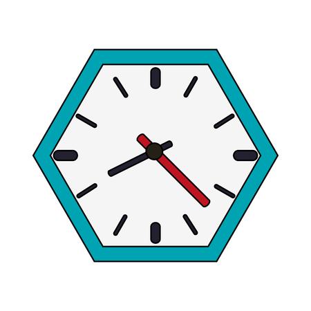 Wall clock icon afbeelding vector illustratie ontwerp Vector Illustratie