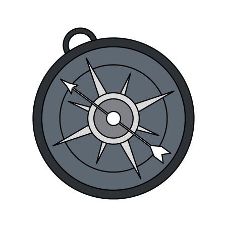 analog compass icon image vector illustration design