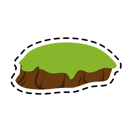 isolated island icon image vector illustration design