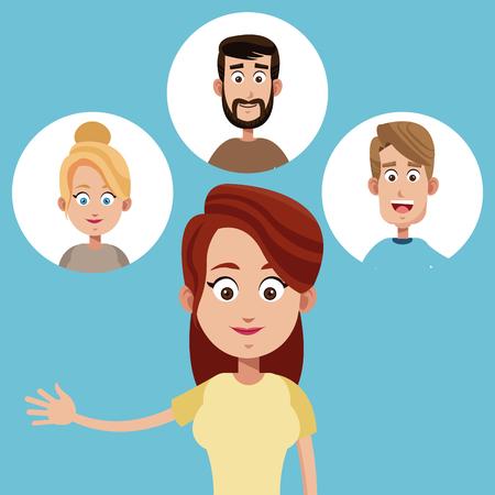 mother female family icons vector illustration eps 10