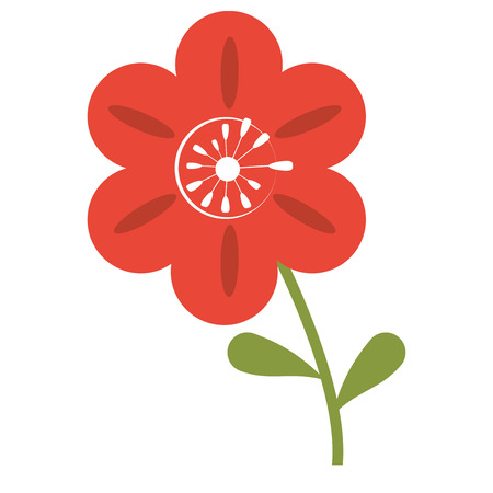 petunia flower decoration image vector illustration eps 10 向量圖像