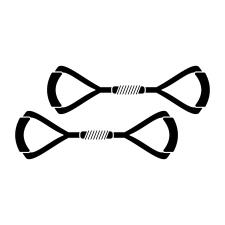illustraion: equipment gym fitness tool pictogram vector illustraion eps 10
