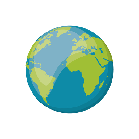 nibiru: earth planet space image vector illustration Illustration