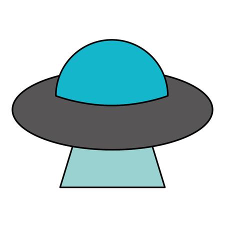 UFO vreemdelingen schotelruimte vector illustratie eps 10