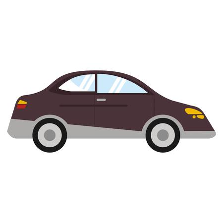automobile door: Car sedan vehicle transport vector illustration eps 10