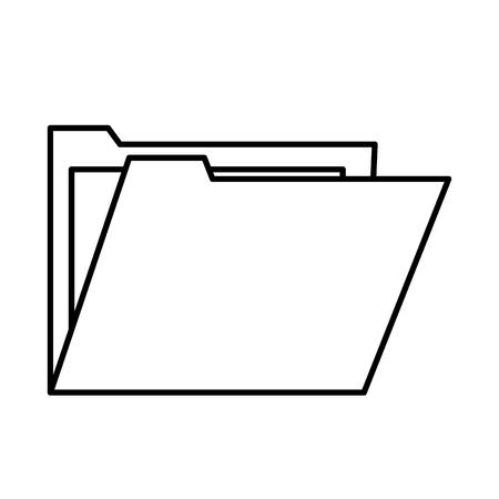 classified: file folder icon image vector illustration design Illustration