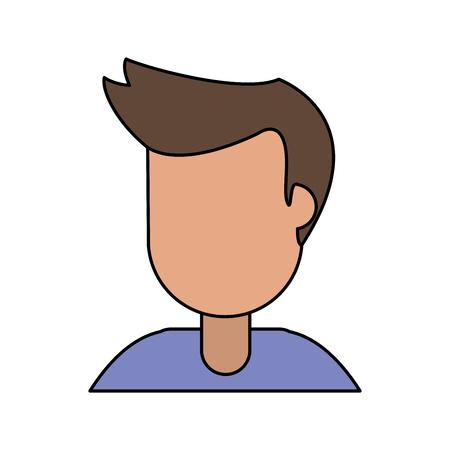 portrait male cartoon image