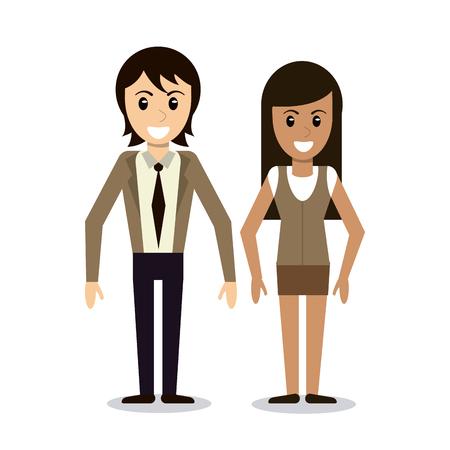 couple relationship together image vector illustration eps 10 Illustration