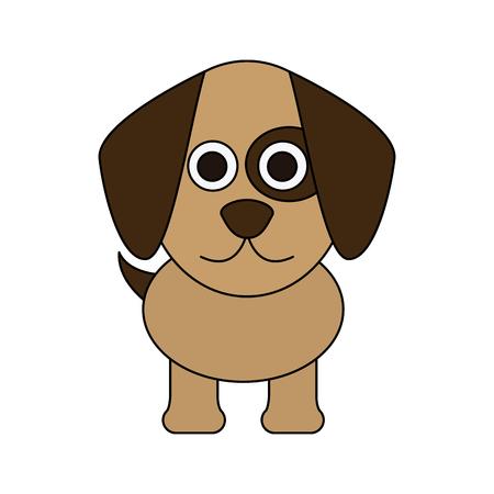 cute dog icon image vector illustration design