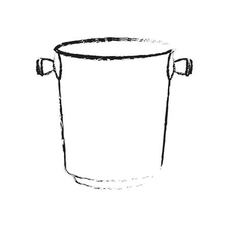 celebrities: ice bucket icon image vector illustration design