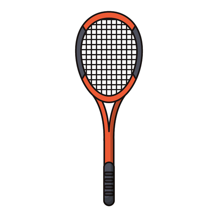 racket tennis sport image vector illustration eps 10