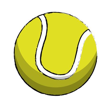 handball: tennis sport ball image