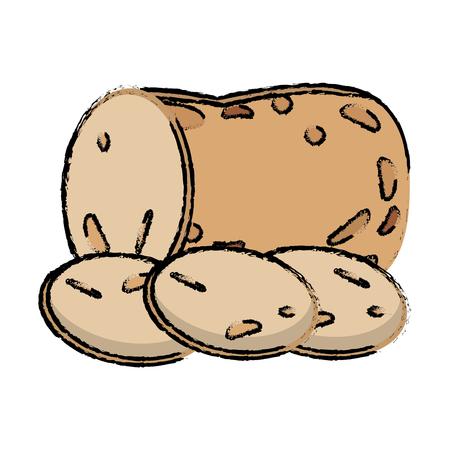 potato slice food diet healthy Çizim