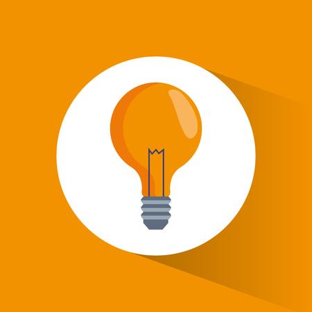 eps: bulb idea creativity marketing vector illustration eps 10