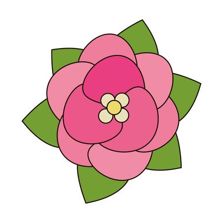 wedding table setting: beauty flower decoration event vector illustration
