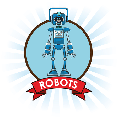 jointly: robots technology science future banner vector illustration eps 10