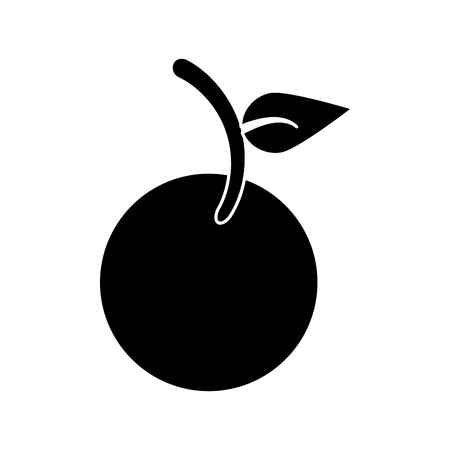 Fruit vegan nutrition icon pictogram vector illustration eps 10 Illustration