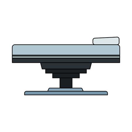 gurney or hospital bed icon image vector illustration design Stock Vector - 76403165