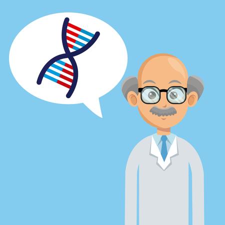 doctor medical care bubble speech vector illustration Illustration