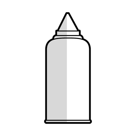 purified: sauce bottle icon image vector illustration design