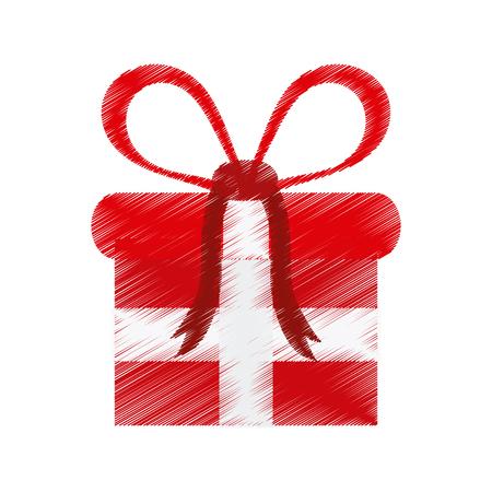 gift box icon image vector illustration design