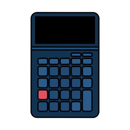 addition: blank keys calculator icon image vector illustration design