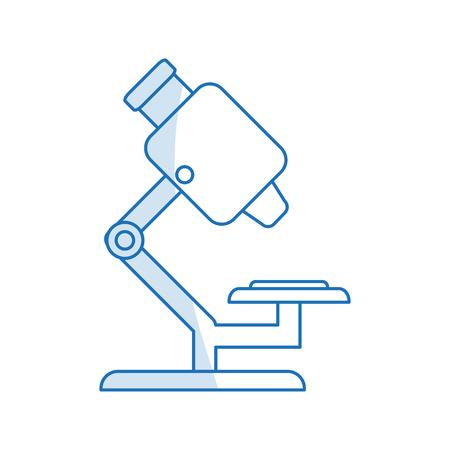 Imagen En Color De Dibujos Animados Rojo Microscopio Ciencia ...