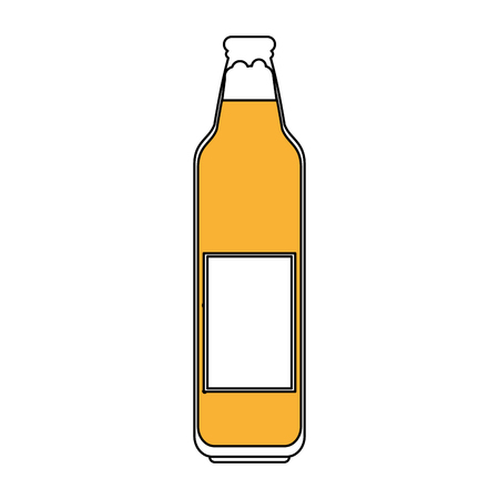 beer bottle icon image vector illustration design