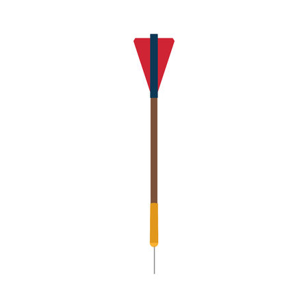 dart or arrow icon image vector illustration design Illustration