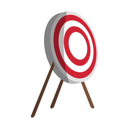 bullseye board icon image vector illustration design Illustration