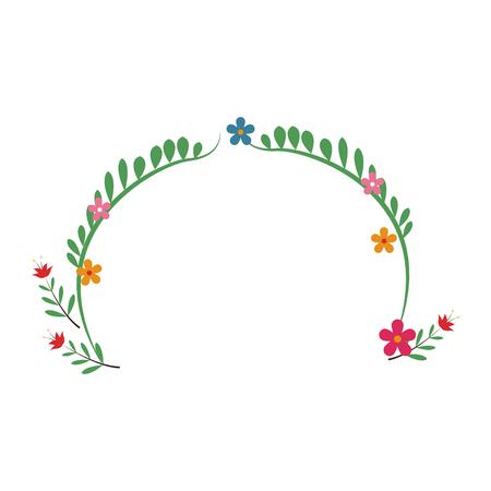 wedding table setting: flower decoration celebration festive party vector illustration